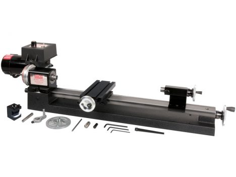 "4400 (4410)—3.5"" x 17"" lathe with adjustable zero handwheels and rocker tool post"