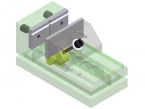 used milling machine vise