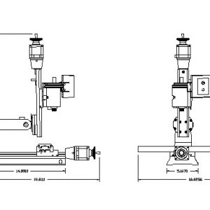 8020/8021 CNC Mill