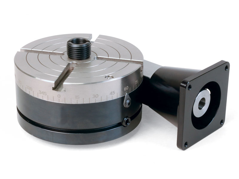 3710 nickel teflon coated manual rotary table with 15 32 for Cnc rotary table with stepper motor