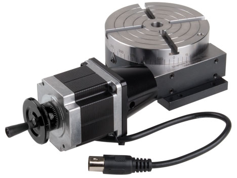 cnc rotary table with stepper motor sherline products