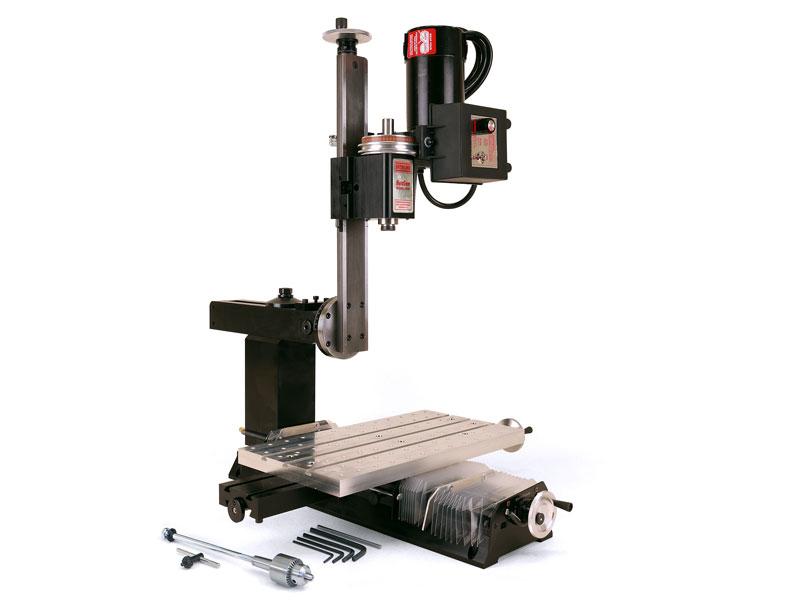 "Adjustable Bed Base >> 18"" NexGen Milling Machine - Sherline Products"